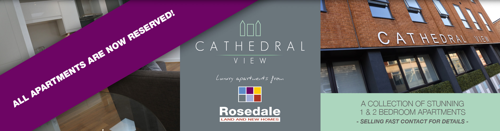 Cathedral Views Apartments for Sale Peterborough