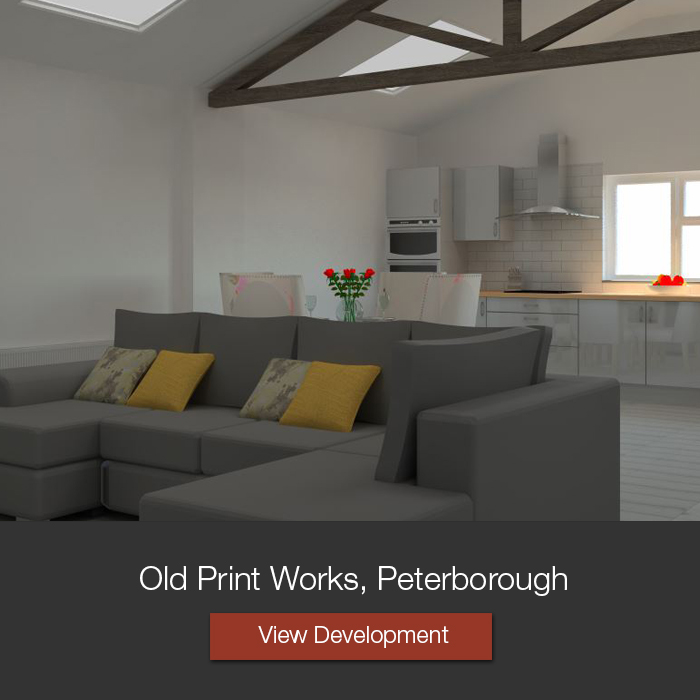 Old Print Works Apartments Conversion Peterborough