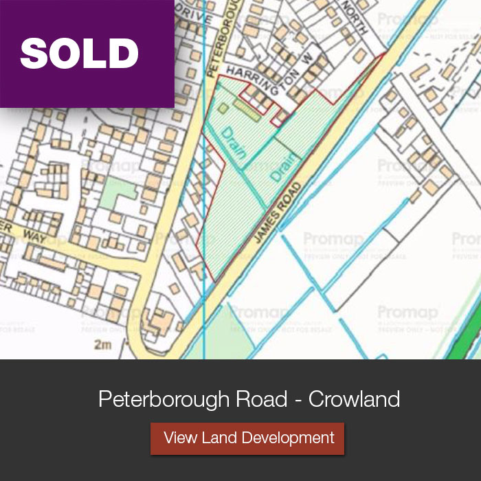 Peterborough Road, Crowland Land and Development Opportunities