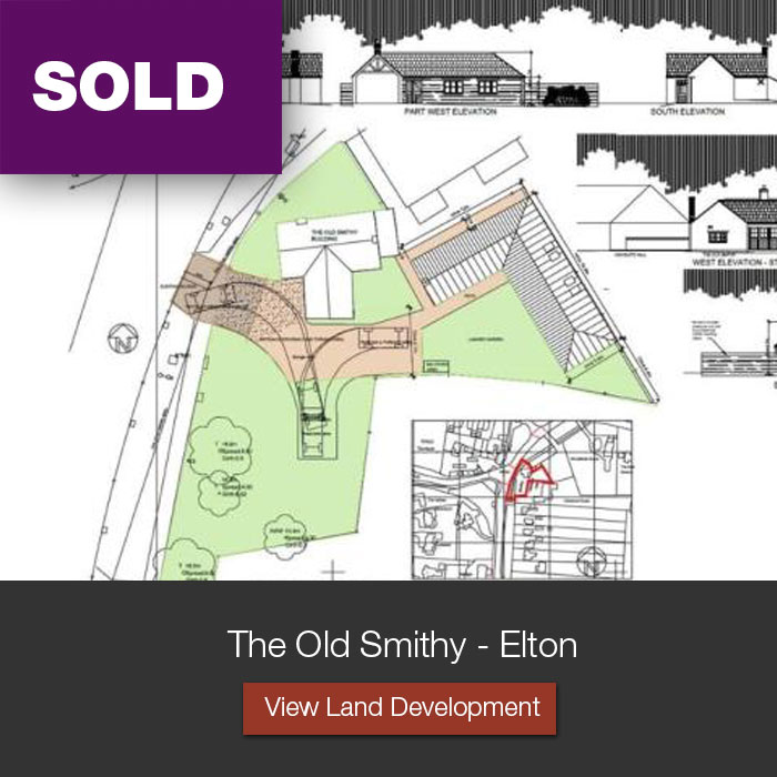 The Old Smithy, Elton Land and Development Opportunities