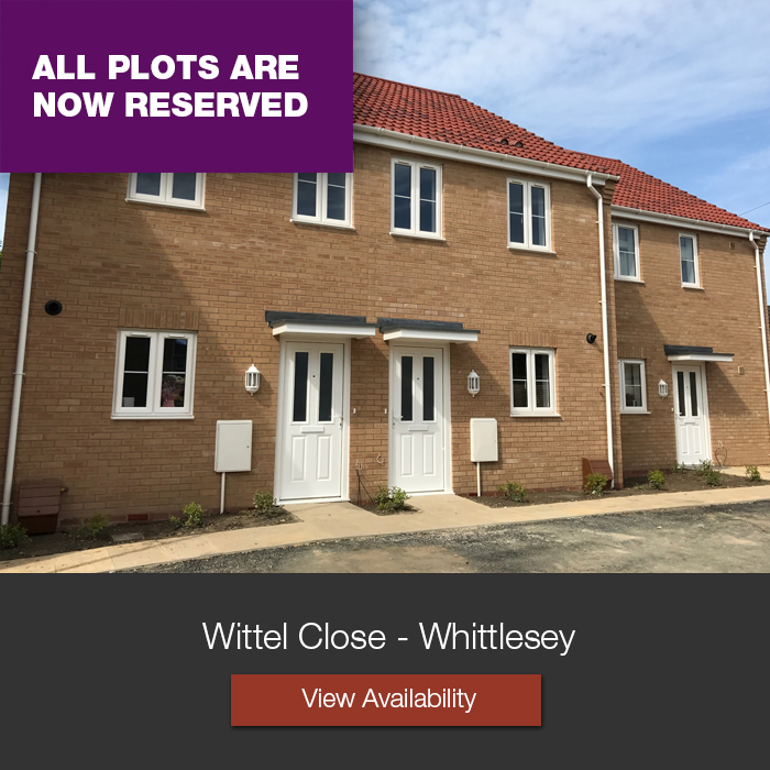 Wittel Close Family Houses Whittlesey