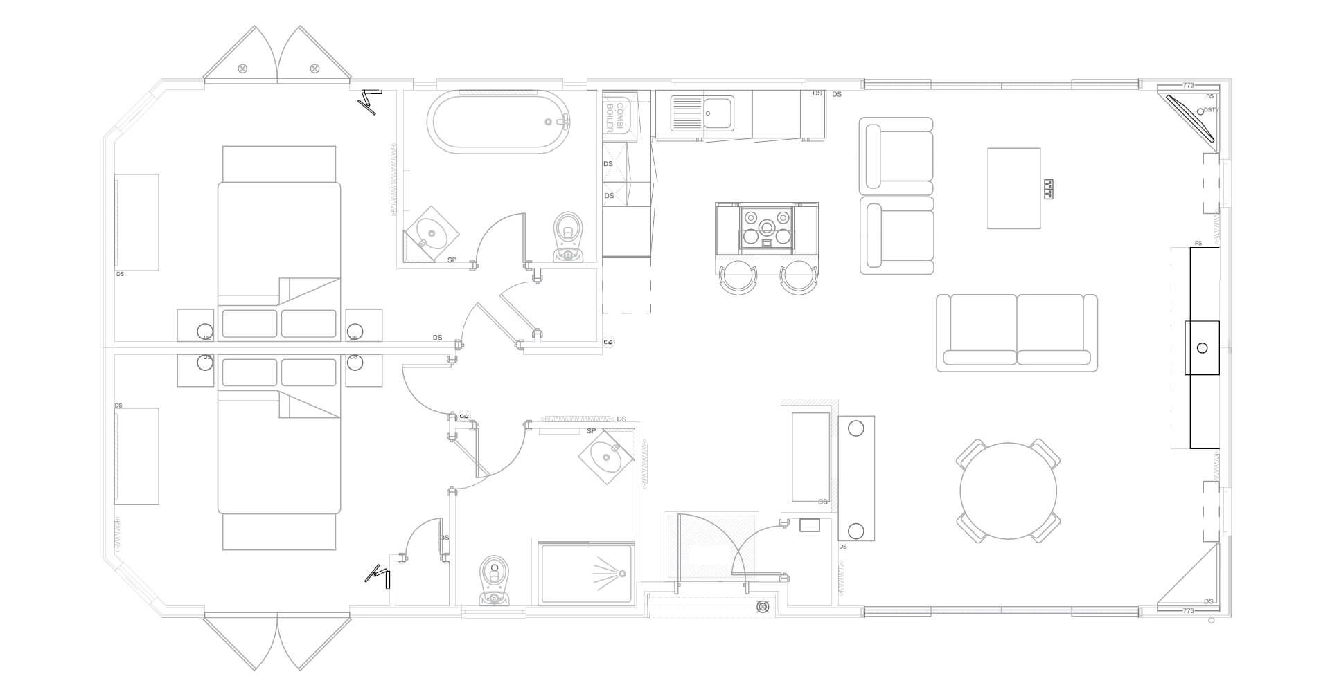 Keepers Lodge Floor Plan