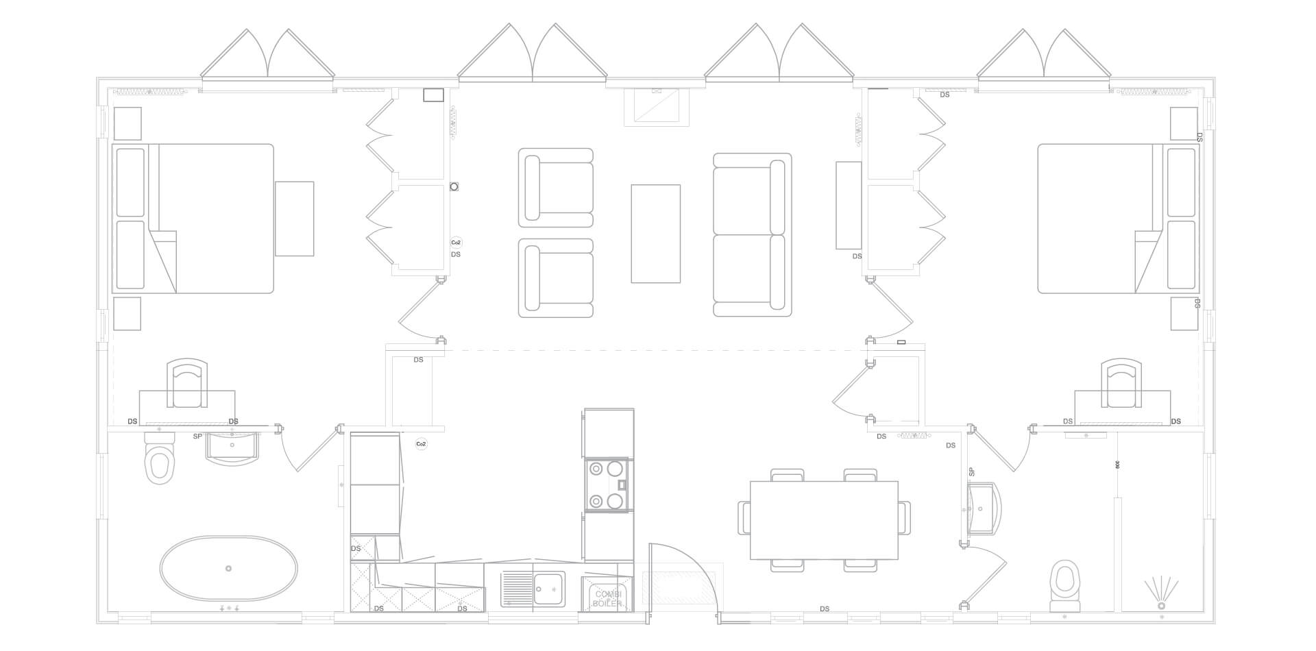 Willow Lodge Floor Plan